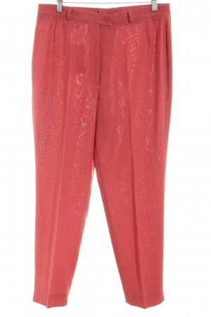 Delmod Stoffhose rot Allover-Druck Business-Look