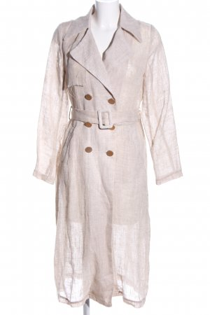 Delphine Trenchcoat wollweiß meliert Casual-Look