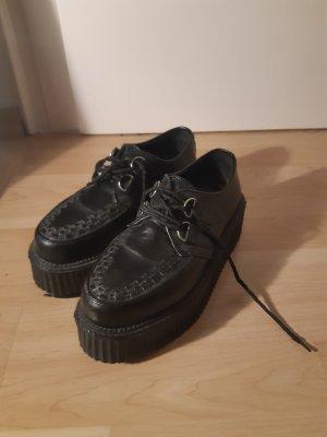 Demonia Platform Booties black