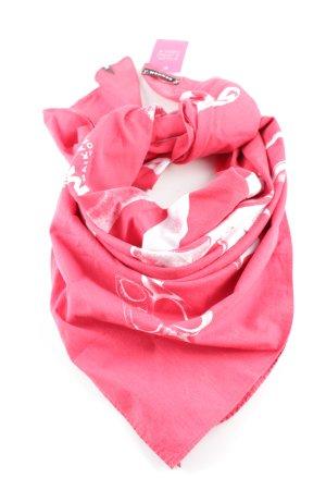 Denham Neckerchief pink-white casual look