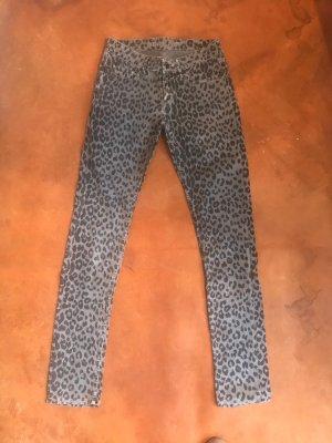 Denham Slim jeans antraciet-zwart