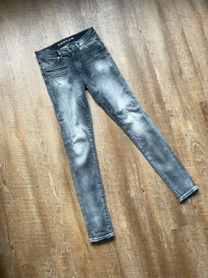 Denham Jeans SPRAY Super Tight grau Fit Größe 27