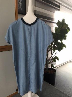 Denham Robe en jean bleu azur coton