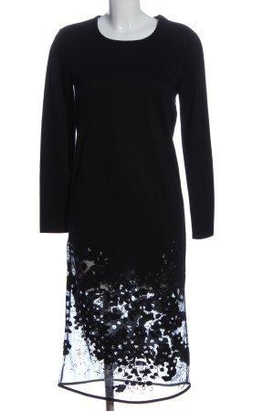 Denham Vestido de manga larga negro look casual