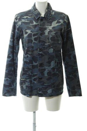 Denham Lange Jacke Camouflagemuster Casual-Look