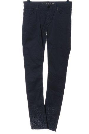 Denham Drainpipe Trousers blue casual look
