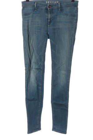 Denham Röhrenjeans blau Casual-Look