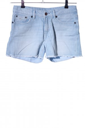 Denham Shorts blau Casual-Look