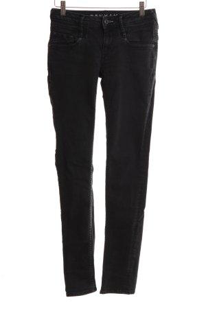 Denham Skinny Jeans schwarz Casual-Look