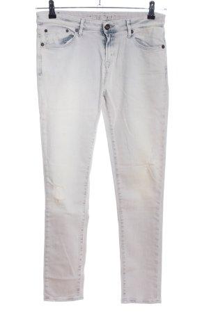 Denham Skinny Jeans wollweiß Casual-Look