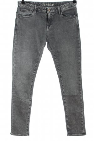Denham Jeans skinny grigio chiaro stile casual