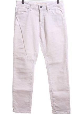 Denham Slim Jeans weiß Casual-Look