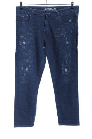 Denham Slim Jeans blau Casual-Look
