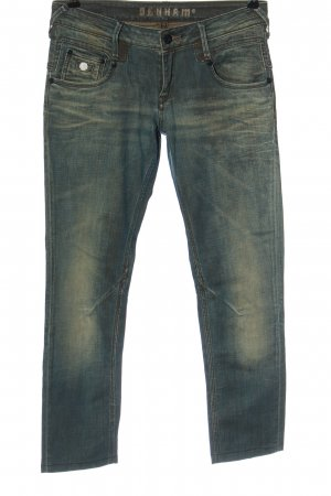Denham Straight-Leg Jeans blau Casual-Look