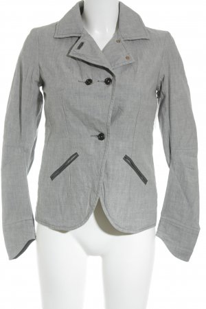Denham Blazer unisex gris claro moteado estilo «business»