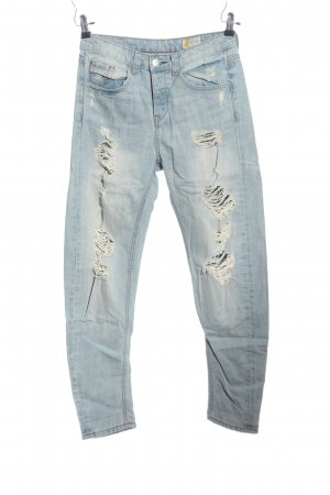 Denim 1982 Boyfriendjeans blau Casual-Look