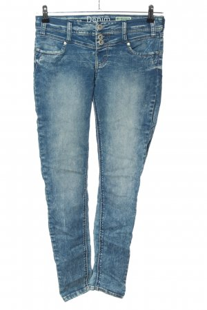 Denim 1982 High-Waist Hose blau Casual-Look
