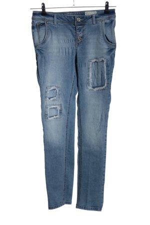 Denim 1982 Slim Jeans blau Casual-Look
