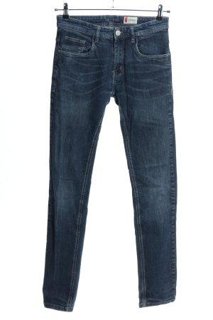 Denim 1982 Slim jeans blauw casual uitstraling
