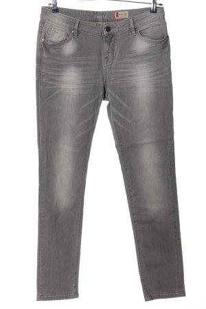 Denim 1982 Straight-Leg Jeans hellgrau Casual-Look