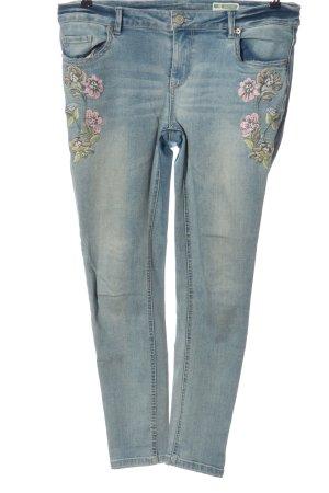 Denim 1982 Slim Jeans grün-pink Casual-Look