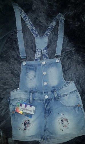 Simply Chic Bib Shorts azure