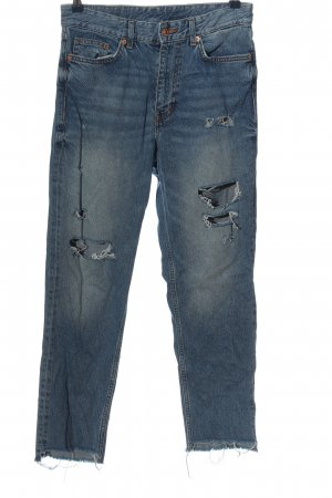 & DENIM Jeans larghi blu stile casual