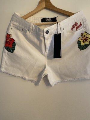 Denim Bermudas Shorts Von Karl Lagerfeld NEU