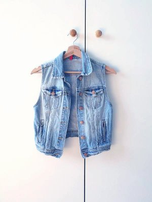 Denim Biker West, H&M, Gr. XS