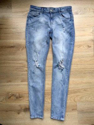 Denim blaue Jeans Destroyed Only