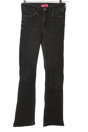 & DENIM Jeansy o kroju boot cut czarny W stylu casual