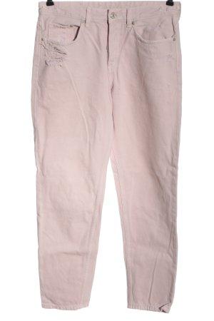 & DENIM Boyfriend Jeans pink casual look