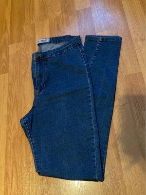 Denim Co. Jeans taille haute bleu acier