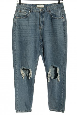 Denim Co. Baggy jeans blauw casual uitstraling