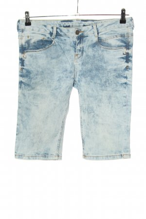 Denim Co. Bermuda blau Farbverlauf Casual-Look