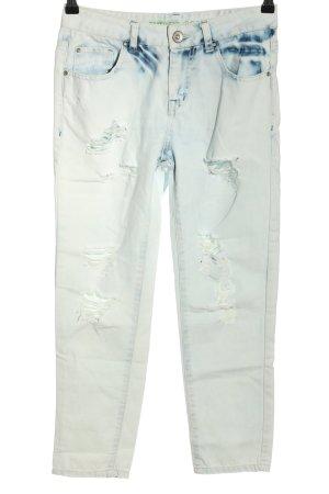 Denim Co. Boyfriendjeans blau Casual-Look