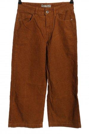 Denim Co. Cordhose braun Casual-Look