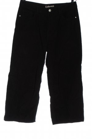 Denim Co. Corduroy Trousers black casual look