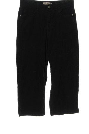 Denim Co. Corduroy Trousers black casual look