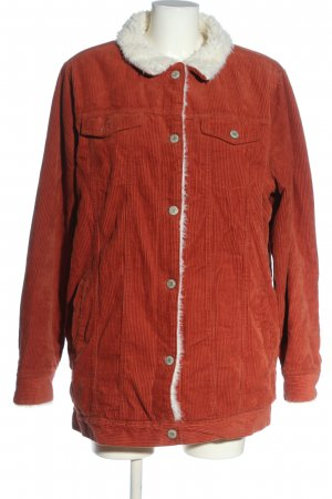 Denim Co. Cord Jacket red casual look