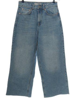 Denim Co. Culottes blau Casual-Look