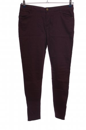 Denim Co. Spodnie z pięcioma kieszeniami brązowy W stylu casual