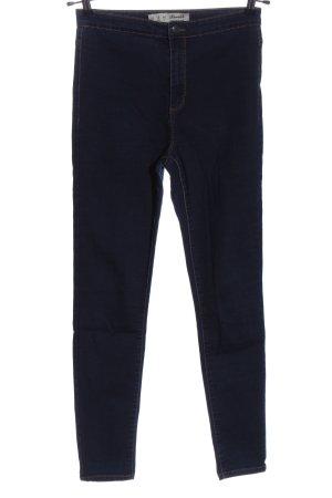 Denim Co. Pantalone a vita alta blu stile casual