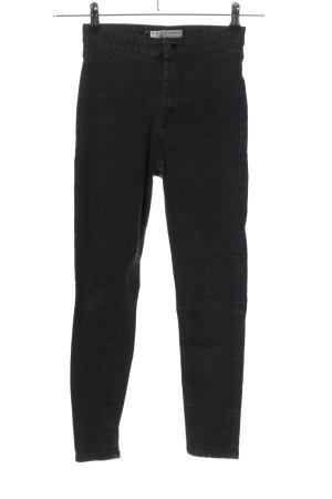 Denim Co. Jeans taille haute noir style décontracté