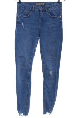 Denim Co. Jeans taille haute bleu style décontracté