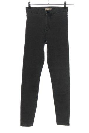 Denim Co. High Waist Jeans schwarz Casual-Look