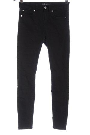 Denim Co. High Waist Jeans black casual look