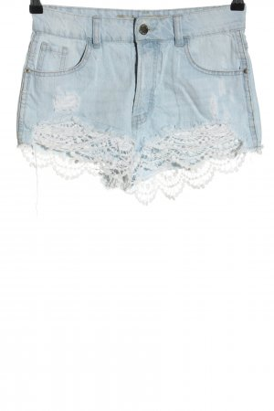 Denim Co. High-Waist-Shorts blue casual look