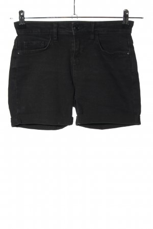 Denim Co. High-Waist-Shorts black casual look