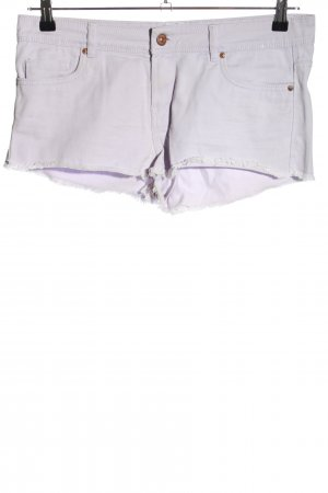 Denim Co. Hot Pants hellgrau Casual-Look